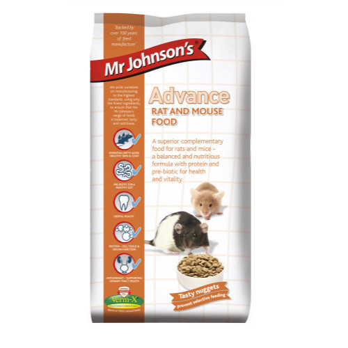 Mr Johnsons Advance Rat & Mouse Food