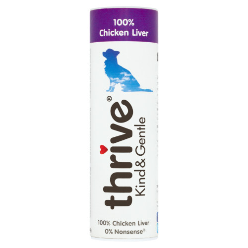 Thrive Chicken Liver Kind & Gentle Dog Treats