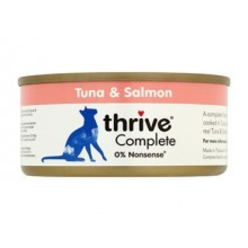 Thrive Complete 100% Tuna & Salmon Adult Cat Food