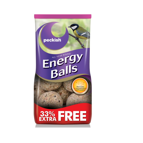 Peckish Energy Balls Bird Food 8 Pack (33 Extra Free)