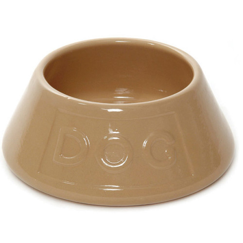 Mason Cash Non Tip Spaniel Water Lettered Dog Bowl 21 x 8.5cm