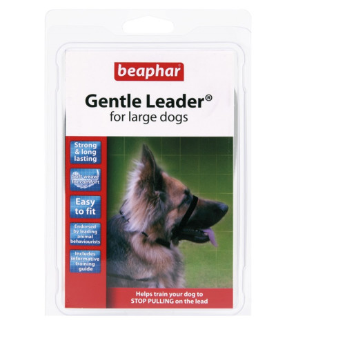 Beaphar Gentle Leader Black Dog Lead
