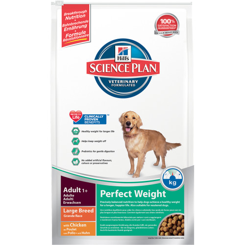 Hills Science Plan Canine Adult Perfect Weight Large Breed From £13.18 | Waitrose Pet