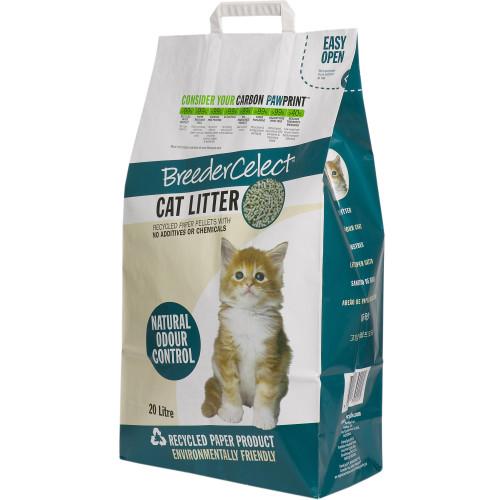 Breeder Celect Cat Litter 20 Litres
