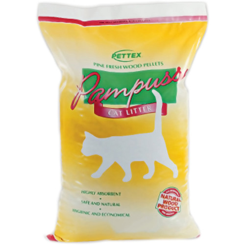 Pettex Pampuss Woodpellet Cat Litter 30 Litres