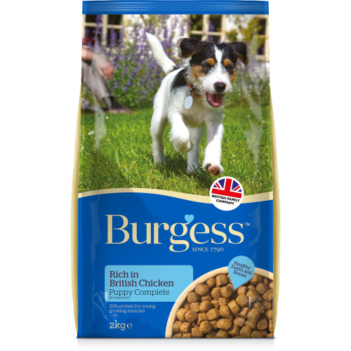 Burgess Complete Chicken Puppy Dog Food