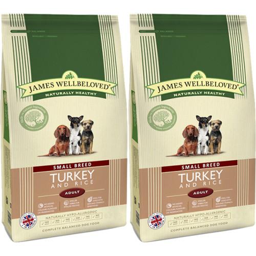 James Wellbeloved Turkey & Rice Adult Small Breed Dog Food
