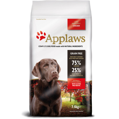 Applaws Chicken Large Breed Dry Adult Dog Food 7.5kg