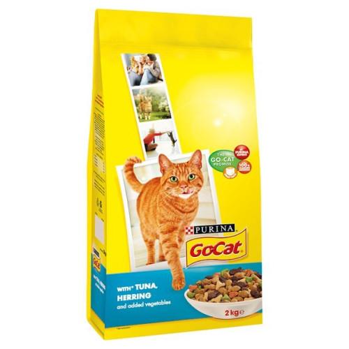 Go-Cat Tuna, Herring & Vegetable Adult Cat Food 10kg x 2