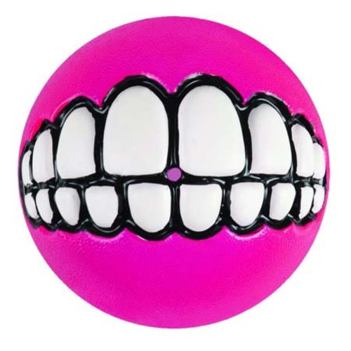 Rogz Grinz Treat Ball Dog Toy
