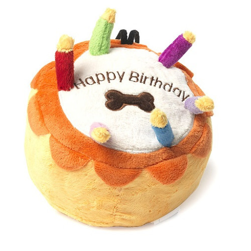 House Of Paws Birthday Cake Dog Toy