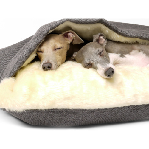Charley Chau Luxury Weave Snuggle Dog Bed