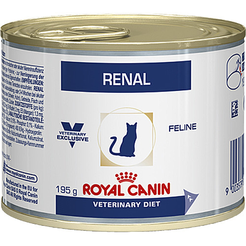 low protein cat food. Royal Canin Veterinary Diets Renal Cat Food Cans Low Protein
