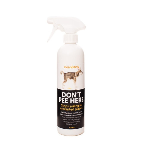 Sharples Pet Clean N Tidy Don't Pee Here Dog Spray