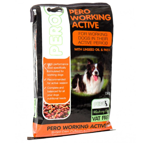 Pero Working Dog Active Dog Food