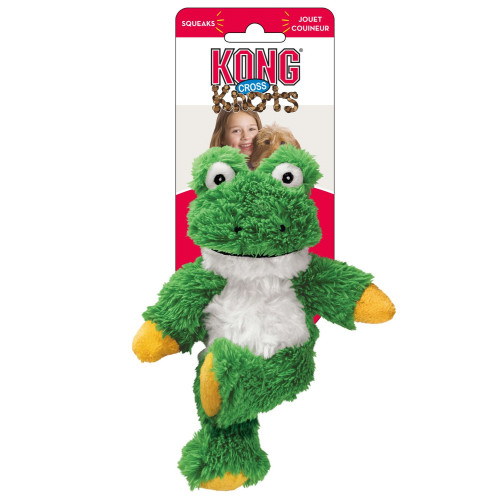 KONG Cross Knots Frog Dog Toy