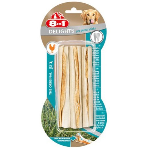 8in1 Dental Delights Sticks for Dogs