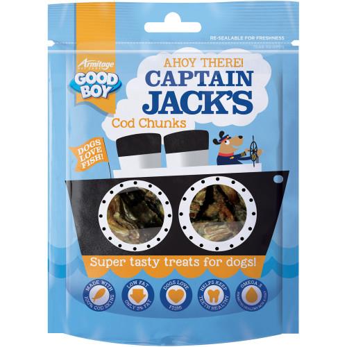 Good Boy Captain Jacks Cod Chunks Dog Treats