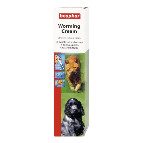 Beaphar Worming Cream for Cats and Dogs