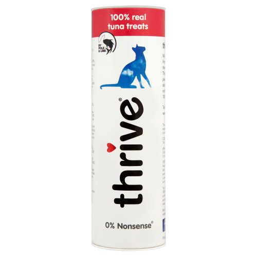 Thrive 100% Adult Cat Treats Tuna 25g