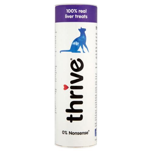 Thrive 100% Adult Cat Treats Liver 25g