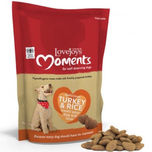 Lovejoys Moments Turkey & Rice Dog Treats