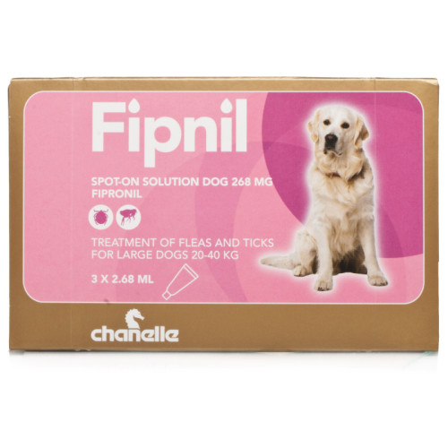 Fipnil Flea & Tick Spot On Solution for Dogs