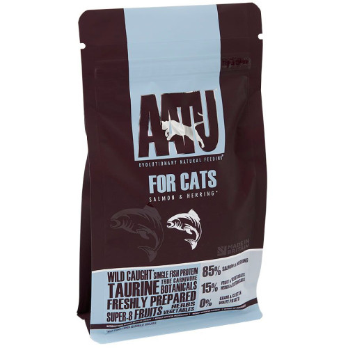 AATU 85/15 Salmon & Herring Adult Cat Food
