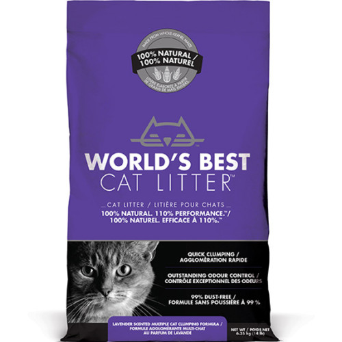 Worlds Best Cat Litter Lavender Clumping Formula From 163 14