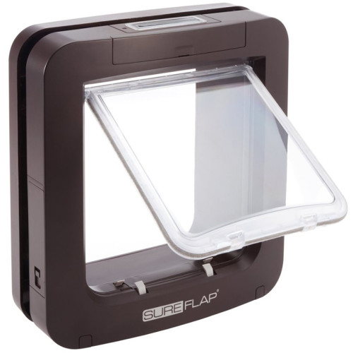 Sureflap Large Microchip Pet Door Cats & Small Dogs Brown