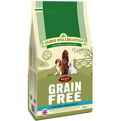 James Wellbeloved Grain Free Fish & Vegetables Adult Dog Food