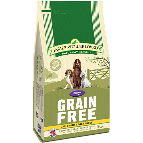 James Wellbeloved Grain Free Lamb & Vegetables Senior Dog Food