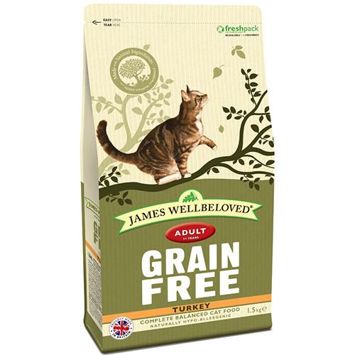 James Wellbeloved Grain Free Turkey Adult Cat Food