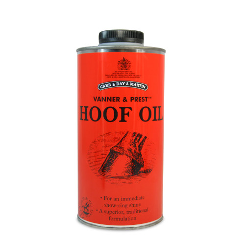 Car & Day & Martin Vanner & Prest Hoof Oil