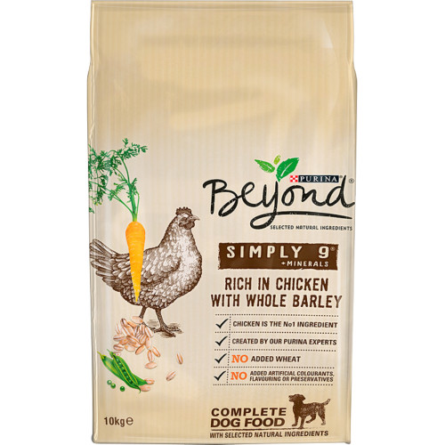 Purina Beyond Simply 9 Chicken & Barley Adult Dog Food