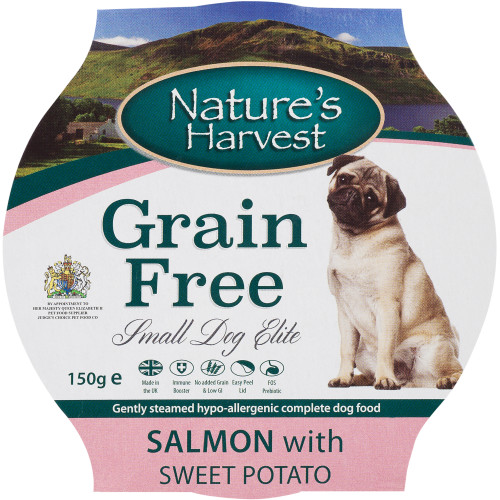 Natures Harvest Elite Salmon with Sweet Potato Small Dog Food