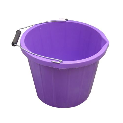 ProStable 3 Gallon Water Bucket Purple