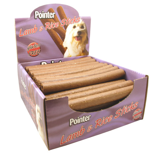 Pointer Lamb & Rice Sticks Dog Treats