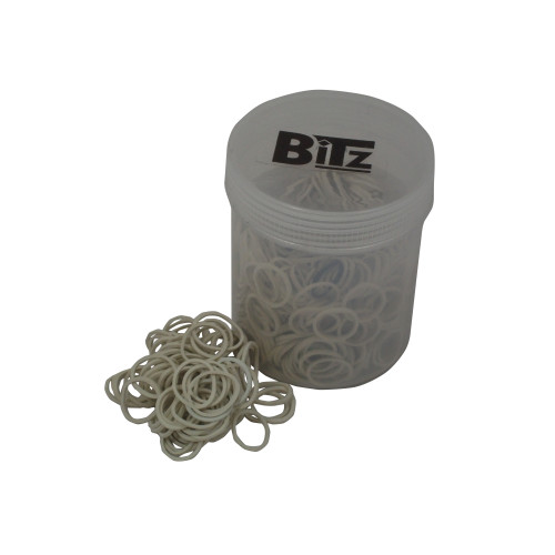 Bitz Plaiting Bands White