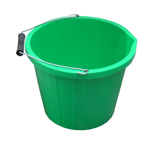 ProStable 3 Gallon Water Bucket Green