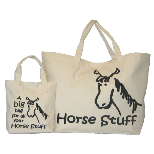 Moorland Rider Horse Stuff Big Bag Natural