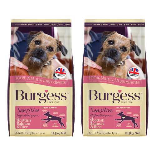 Burgess Complete Sensitive Salmon Adult Dog Food