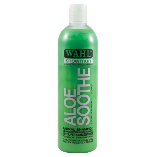 Wahl Showman Aloe Soothe Shampoo 500ml