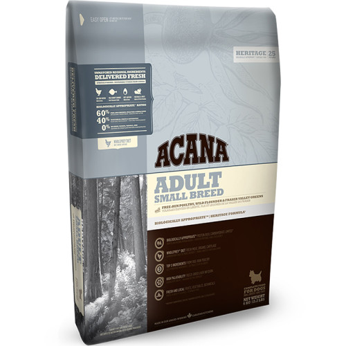 Acana Heritage Small Breed Adult Dog Food 6kg x 2