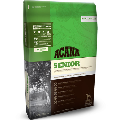 Acana Heritage Senior Dog Food 11.4kg x 2