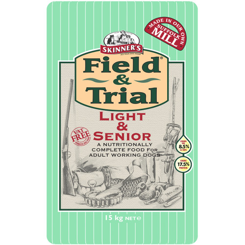 Skinners Field & Trial Light & Senior Dog Food
