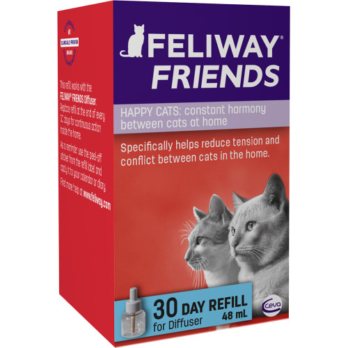 Feliway Friends Cat Calming Diffuser Refill 48ml
