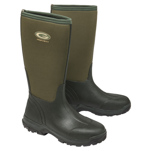 Grubs Frostline Boots Size 10 Moss Green