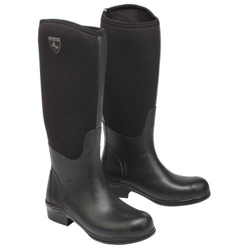 Grubs Rideline Riding Boots Size 7 Black
