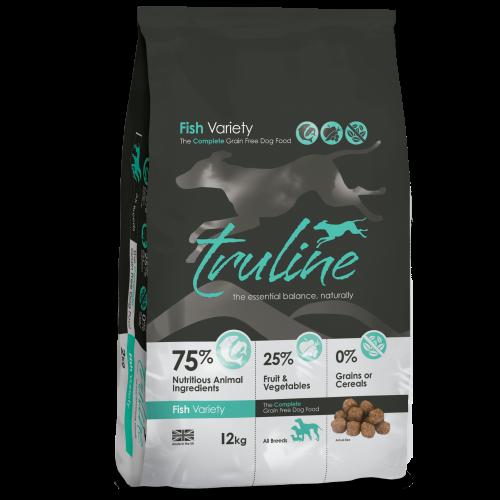 Truline Fish Adult Dry Dog Food 12kg x 2